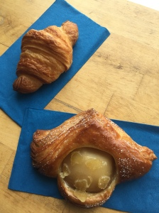 Croissant & ginger-pear danish